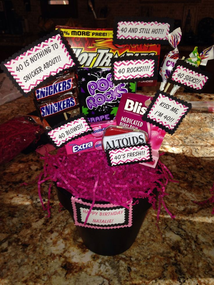 40th birthday gifts pinterest 40th birthday and
