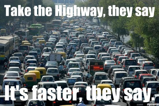 Traffic, meh :( | Funny Things & Car Humor | Pinterest ...
