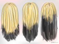 Dye Your Hair Blonde and Black Underneath | Brown hair ...