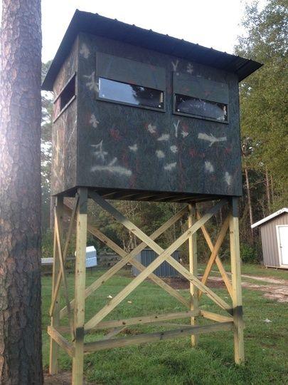 Deer Hunting Shooting Houses HUNTING Pinterest Shooting