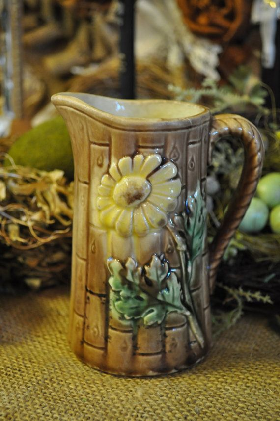 Majolica Pitcher Over 100 pc in our shop starting at 18