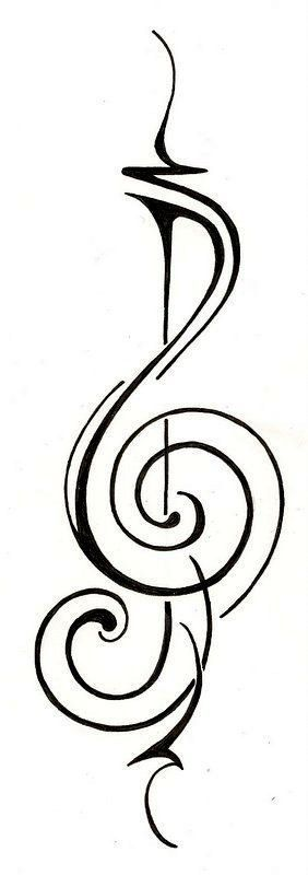 17 Best ideas about Music Tattoo Designs on Pinterest