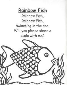 20+ best ideas about Rainbow Fish Activities on Pinterest