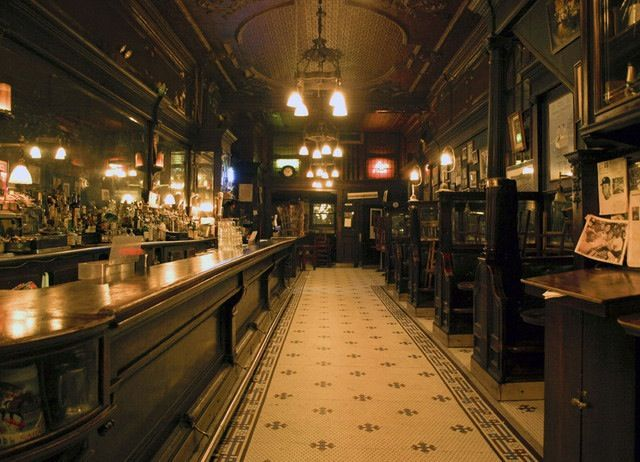 Old Town BarNYC Original interior of possibly the oldest bar in NYC The Old Town which