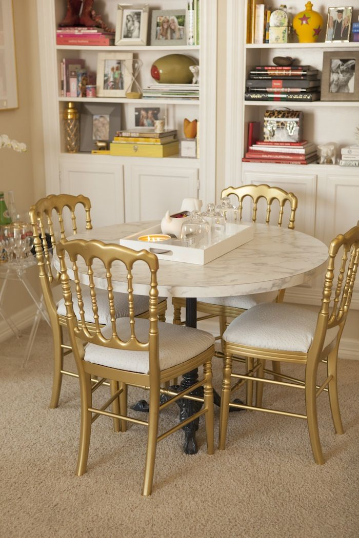 1000 ideas about Gold Dining Rooms on Pinterest