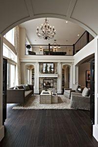 Dark Wood Floors Open Plan | @Kerri S. Nestorik Aucoin ...