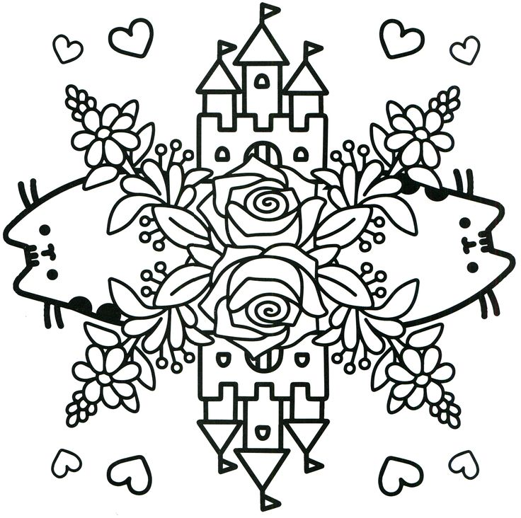 1027 best images about coloring pages on Pinterest