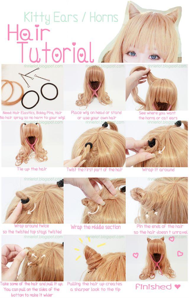 25 Best Ideas About Kawaii Hair Tutorial On Pinterest Kawaii