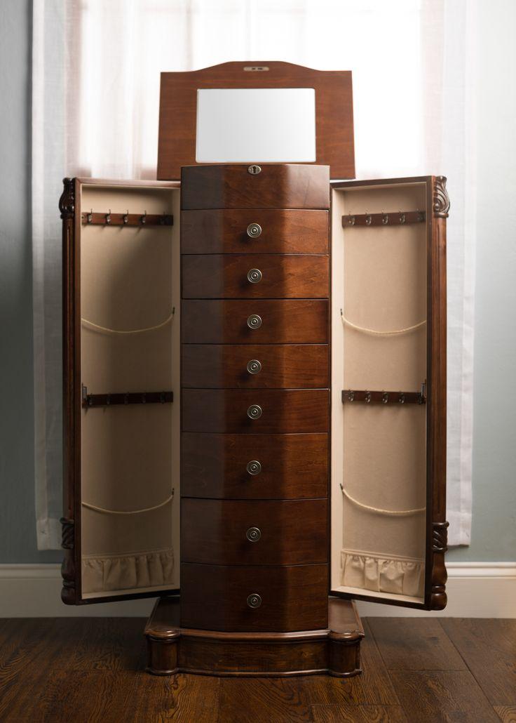 13 best ideas about Armoires on Pinterest  Diy jewelry organizer Louis xvi and Jewelry storage