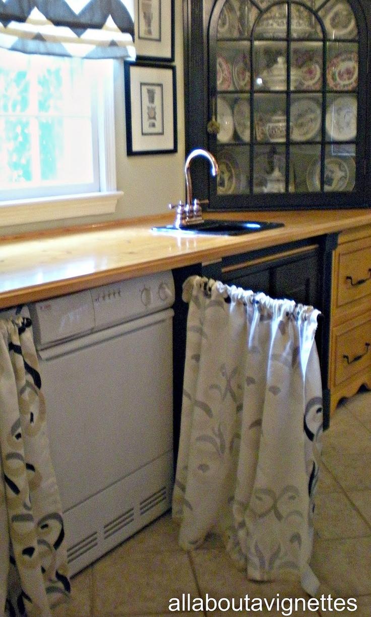 1000 Images About Kitchen Cupboard Curtains On Pinterest Under Sink New Kitchen And Kitchen
