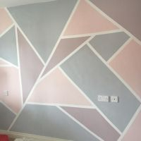 17 Best ideas about Geometric Wall on Pinterest ...