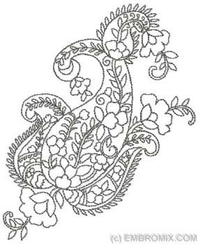 1000+ images about Embroideries Paisley on Pinterest