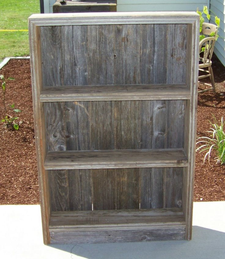 Diy Rustic Furniture Rustiques Old Rustic Bookcase Or