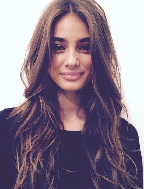 25 Best Ideas About Long Brown Hair On Pinterest Long Dark Hair