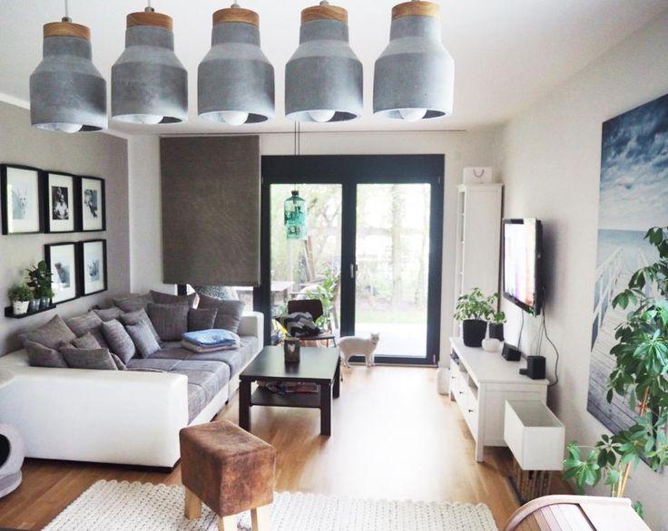 sofa raum warm australian wohnzimmer mit kamin im modernen luxus ... - Wohnzimmer Gemutlich Warm