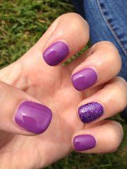 purple toe nails ideas