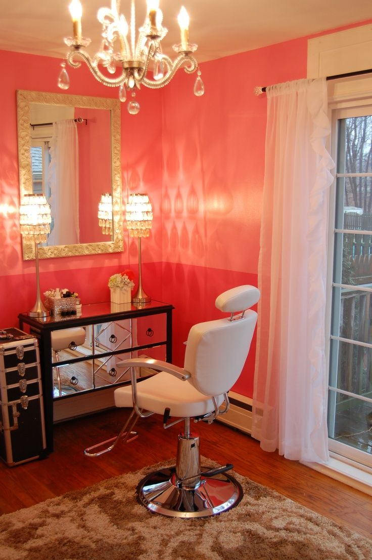 25 best Home salon ideas on Pinterest  At home salon station Beverage refrigerator and Coffee