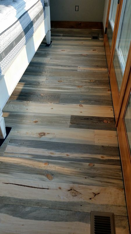 Hand Scraped Beetle Kill Pine Flooring From Sustainable