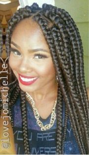 jumbo box plaits braids rope