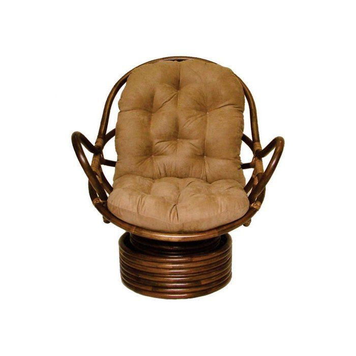 rattanswivelrockerchaircushions  Rattan Swivel Rocker