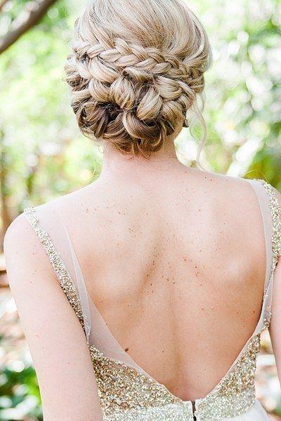 25 Best Ideas About Braided Wedding Hairstyles On Pinterest