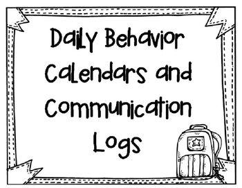 17 Best ideas about Behavior Calendar on Pinterest
