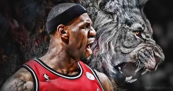 Lebron Lion Logo Wallpaper Lebron james lion wallpaper