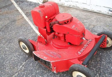 Vintage Jacobsen Junior Mower