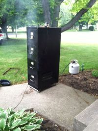 File Cabinet Smoker Plans - WoodWorking Projects & Plans