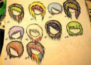 1000 emo drawings