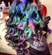 #ombre hair #rainbow #hair