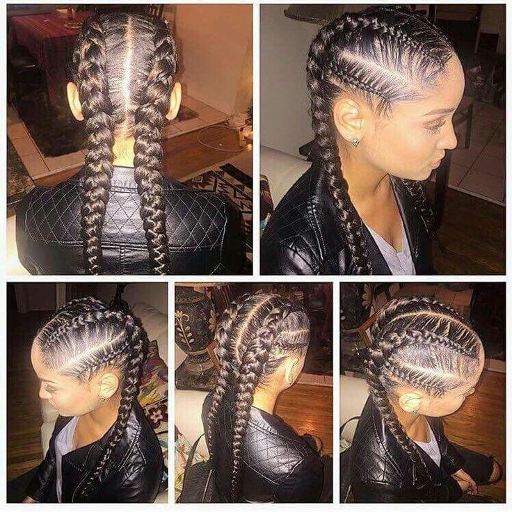 25 Best Ideas About French Braids Black Hair On Pinterest 2