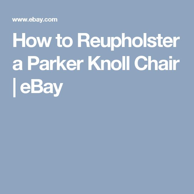 1000 ideas about Parker Knoll Chair on Pinterest