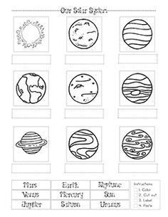 1000+ ideas about Solar System Worksheets on Pinterest