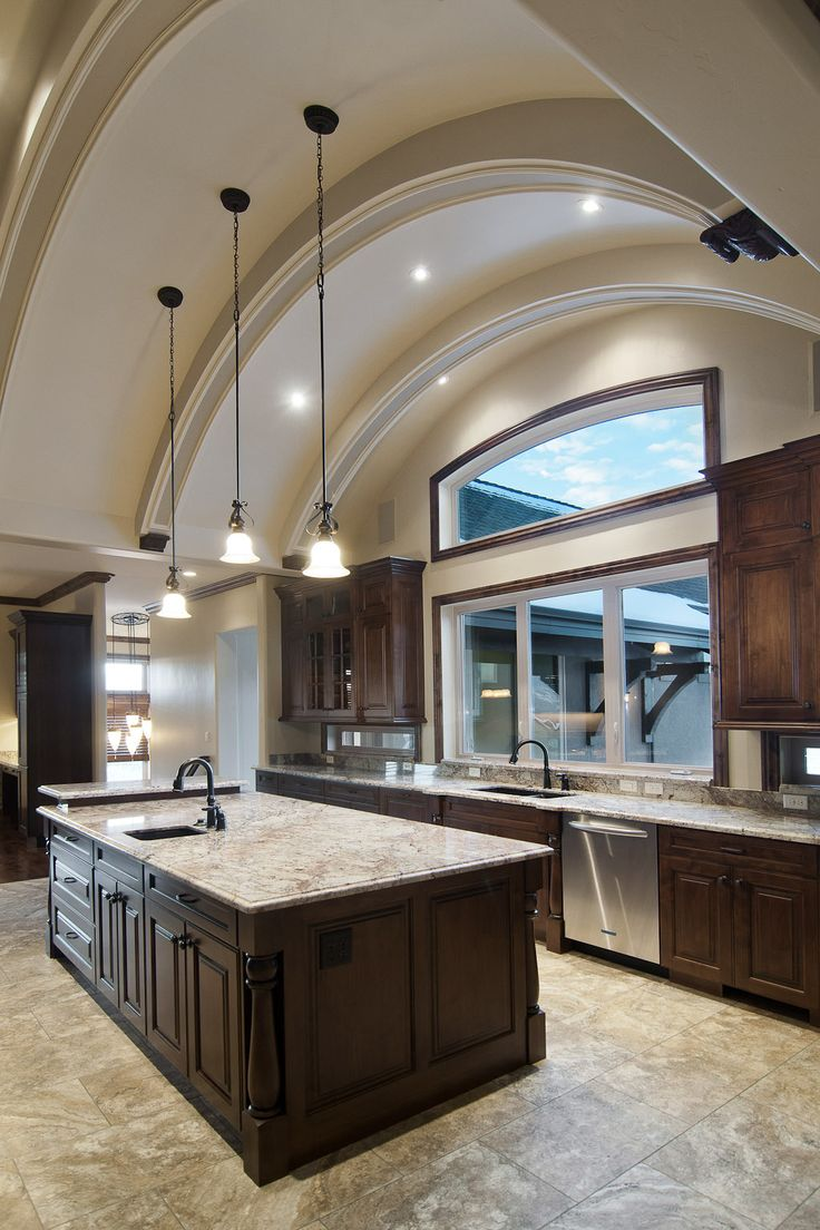 41 best images about Kitchens wdark cabinets on Pinterest