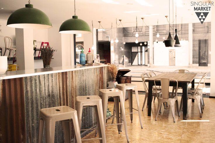 metal bistro chairs folding chair blind muebles estilo vintage e industrial. lámparas, taburetes, sillas y mesas.   sm en estado puro ...
