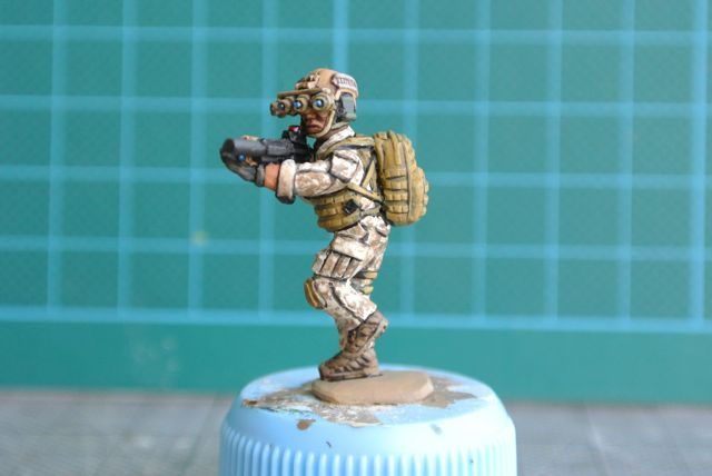 28Mm Modern Miniatures  the second group of SEALs that I