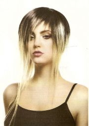 extreme line bob hair