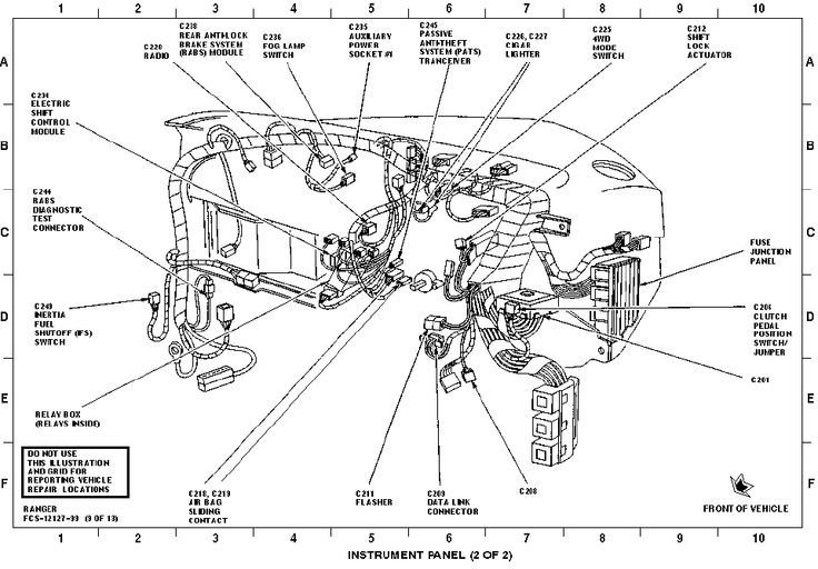 98 ford ranger ignition wiring diagram