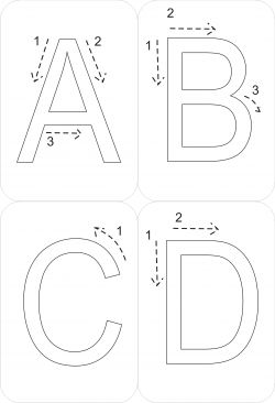43 best images about Sensory Letter and Number Formation