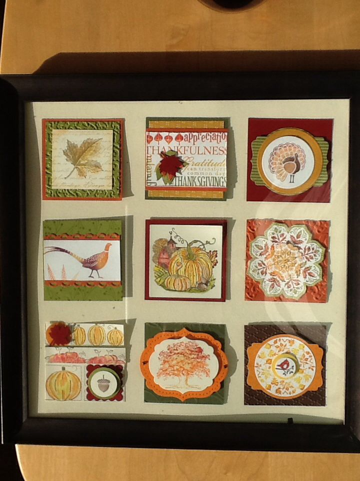 Fall Sampler Using Stampin Up Products I Love Paper