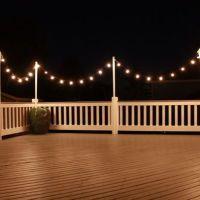 25+ Best Ideas about Deck Lighting on Pinterest   Outdoor ...
