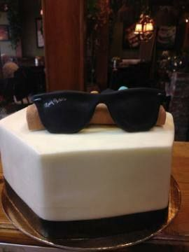 Birthday Cakes Sunglasses And Cakes On Pinterest