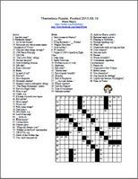 17 Best images about Crossword Puzzles on Pinterest