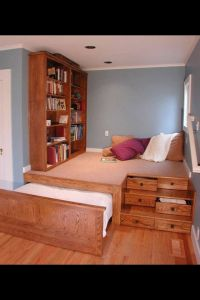 Beds for small spaces, Platform beds and Small spaces on ...