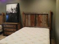 Wall Mount Reclaimed Barnwood Headboard | Ozark Custom ...
