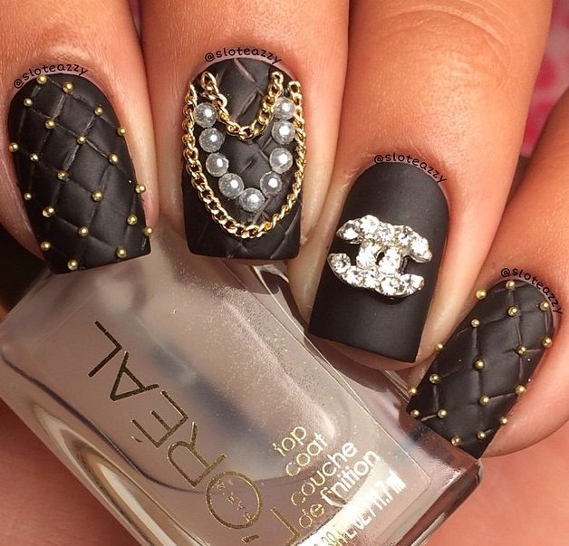 17 Best images about CHANEL NAIL ART on Pinterest