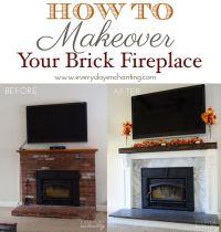 25+ best ideas about Brick fireplace redo on Pinterest ...