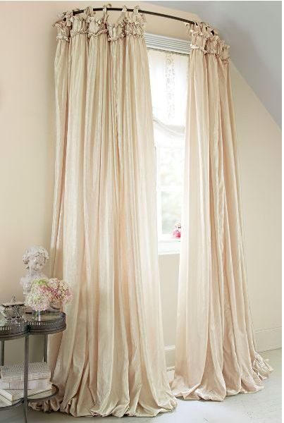 25 Best Ideas About Curved Curtain Rod On Pinterest Girls