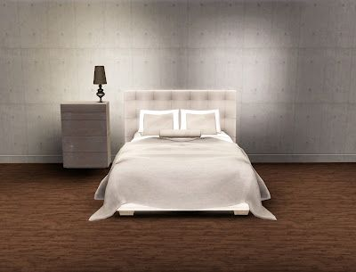 Paris Quadro Bed Set Esatto Design Sims 3 CC